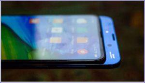 Full screen smart phone
