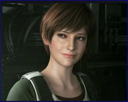 Female character in Resident Evil